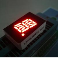 1 Single Digit Segment Alphanumeric Numeric LED Display OEM / ODM Green Manufactures