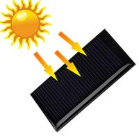 China 0.15W 5V 53*30mm Small Mono Solar Cell Mini Solar Panels For Education Kits on sale