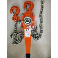 Construction Hand Wrenching Chain Tackle Block , Hand Chain 3 Ton Hoist Crane Manufactures