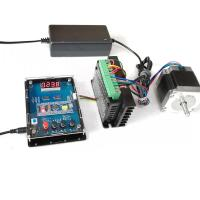 China 3A Two-phase 1.2Nm Single Axis 57 Stepper Motor + TB6600 4A 40V Driver+ Direction Speed Cotroller Kit on sale