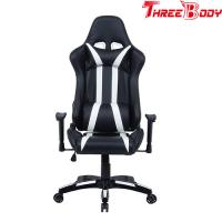 Executive High End Gaming Chair , Light Weight Racing Reclining Office Chair Manufactures