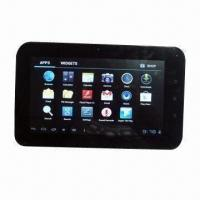 7 Inches Tablet PC with Android 4.0, Boxchip A13, Capacitive Multi-touch Screen and 2800mAh Battery Manufactures