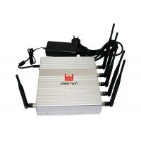 China Wireless Cell Phone Frequency Jammer / Cell Signal Blocker Jammer WIFI GPS on sale