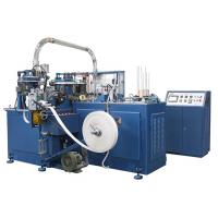 SCM-600 90pcs/min Automatic Paper Cup Machine / Making Machinery With Heater Sealing / Ultrasonic unit Manufactures