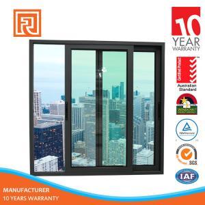Alibaba China Supplier AS2047 Standard aluminium arch slilding window grill design