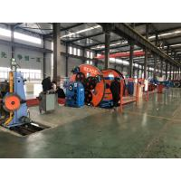 Multi - Function Cable Forming Machine For Power Cable Data Cable 13.9-33.1RPM Manufactures