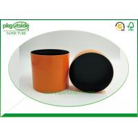 Round Cylinder Cardboard Tube Boxes Pantone Printing 100% Eco Kraft For Cosmetics Manufactures