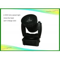 Black Shell Searchlight Outdoor Light , Outdoor Sky Beam Light Waterproof Manufactures