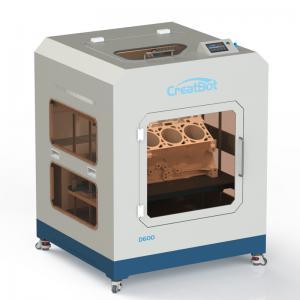 Automatic Large Print Size 3d Printer , 110-220V CreatBot D600 3D Printer Manufactures