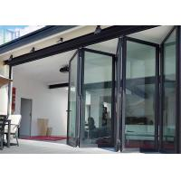 LYS Soundproof Aluminium Bi Folding Patio Doors Easy Clean For Room Dividers Manufactures