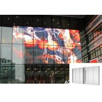 Transparent LED Screen See Through Indoor Fixed Shopping Mall Advertising Panel Manufactures