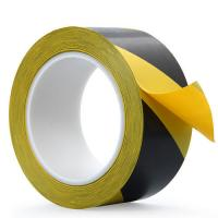 Uv Resistant Red And White Floor Marking Tape , PVC Road Floor Striping Tape Manufactures