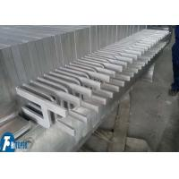 Quality Beet Pulp Clarification Plate And Frame Filter Press With 1m2 - 30m2 Filter Area for sale