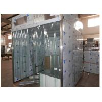 Sampling / Dispensing Booth For Powder Weighting , Positive Pressure Clean Room ISO 5 Manufactures