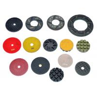 High Working Efficiency 3  4  5  6  Resin Diamond Floor Polishing Pads Manufactures