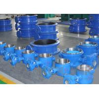 China Butt weld Butterfly Valve Cast Steel High Pressure Triple Offset on sale