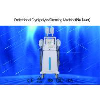 4 Handles Cryolipolysis Fat Freezing Machine With Silica Gel Head CE Certificated Manufactures