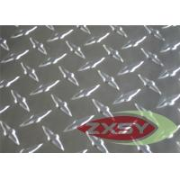 5052 6061 Construction Embossed Aluminium Sheet In Diamond Pattern Manufactures