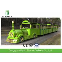 Diesel Power Tourist Trackless Train With 42 Seats , Multi Color Shopping Mall Trains Manufactures