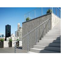Stainless steel inox round 8mm rod railing for balcony/ stair exterior Manufactures