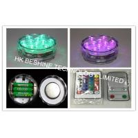 10 Colors LED Submersible Tea Light  Remote Control 3 x  AAA Batteries Manufactures
