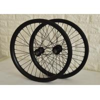 Toray Carbon BMX Bikes 20 Inch Wheels , Carbon Fiber BMX Wheels Smooth Riding Manufactures