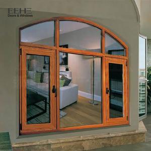 Economic Aluminium Glazed Windows / Fiberglass Flyscreen Aluminium House Windows
