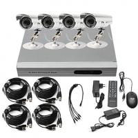 DIY CCTV Security 4CH 720P 1.0MP Camera AHD DVR Day Night Home Surveillance System Manufactures