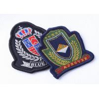 Custom Embroidered Military Patches Beret Cap Badge , Cool Military Hat Patches Manufactures