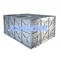 Stainless Steel Sectional Water Tanks / Water Storage Tanks , Square Shaped Stainless Steel Water Tanks Manufactures