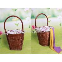 China Handmade wicker picnic basket storage basket fruit basket on sale