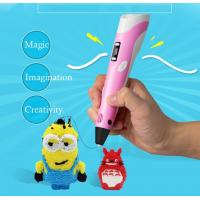 Buy cheap 1.75mm ABS/PLA 3D Free Filament For Kids Christmas,3D Printing Pen Smart 3D Drawing Pen from wholesalers