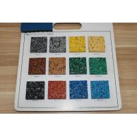 Quality Fragmented Recycled Rubber Pellets Antibacterial Anti UV For Basketball Courts for sale