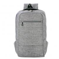 Environmental Polyester Laptop Bag Backpack With Laptop Sleeve 28*43*12 Cm