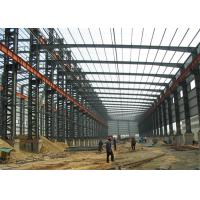 Quality Industrial Steel Structure Warehouse Buildings Eps Sandwich Panel Wall / Roof for sale