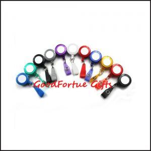 China promotion gift Coloured Lanyard Badge Reel printed logo on sale