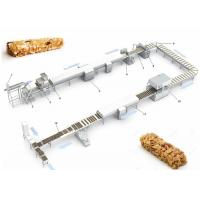 China CE ISO9001 Pastry Making Equipment , Protein Candy Chocolate Nougat Bar Making Machine on sale