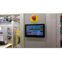 Integrated HMI Panel Android OS 7 Inch In Wall Mount POE Touch Tablet PC With LED Light Option Manufactures