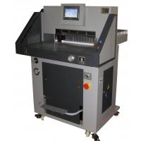 A4 Semi Automatic Paper Cutting Machine With Double Hydraulic System Manufactures