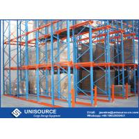 China Warehouse Drive In Pallet Racking Heavy Duty / Medium Duty / Light Duty For Cold Storage on sale