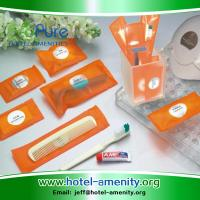 China Eco-friendly design luxury hotel amenities used for 4-5 star hotel on sale