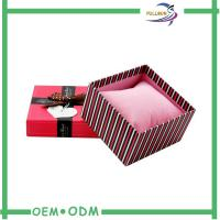 Fancy Matte Red Cardboard Match Packaging Box With Screen Printing Manufactures