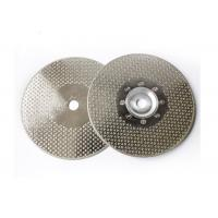 """4.5"""" Electroplated Diamond Tools Electroplated Diamond Saw Blade For Stone Cutting Manufactures"""