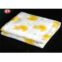 Soft Cozy Luxury Microfiber Plush Fleece Baby Mini Blanket , New Born Winter Swaddle Printed Baby Blankets for sale