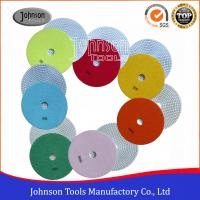 China 7 Inch Diamond Polishing Pads For Grind Fibreglass Panels and Stones on sale