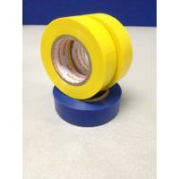 PVC Blue / Yellow Insulation Tape For Protect And Mark Cables