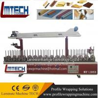 quality wood veneer, mdf, melamine profile wrapping machine Manufactures