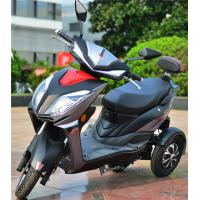 China Three Wheel Power Scooter Motorcycle 72v40ah Lithium Battery 60km/h Max Speed on sale