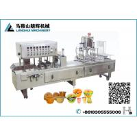 China Automatic Jelly | Fruit juice Cup Filling and Sealing Machine on sale
