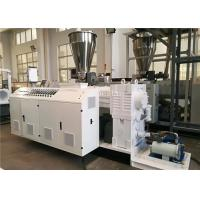 Pvc Pipe Extrusion Machine Automatic Cutting 380V 50HZ High Efficiency Manufactures